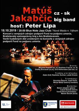 Blue Note: Matúš Jakabčic CZ-SK Big Band, 18.10.2019 20:00