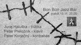Koncert: j.p.p. v Bon Bon Jazz Bare, Bon Bon Jazz Bar, 15.11.2019 20:00