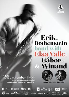 Erik Rothenstein Band with Elsa Valle & Gábor Winand, 26.11.2019 19:00