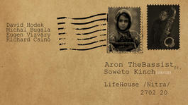 Aron TheBassist ft. Soweto Kinch (SK/GB), 27.2.2020 20:00
