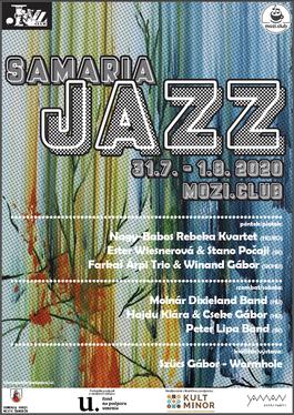 Samaria Jazz festival, 31.7.2020 20:00