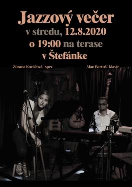 Zuzana Kováčová & Alan Bartuš, 12.8.2020 19:00