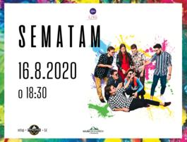 Funky koncert SEMATAM, 16.8.2020 18:30