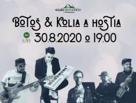 Eugen Botoš & Kolia a hostia, 6.9.2020 19:00