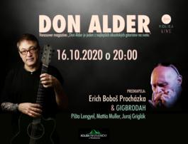 DON ALDER , 16.10.2020 20:00