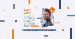 Koncert: Ingrid Arthur & Andy Winter Trio, Koncertná sála SZUŠ, Tranovského 4, Liptovský Mikuláš, 26.9.2020 19:00