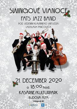 Swingové Vianoce v Košiciach, 21.12.2020 18:00
