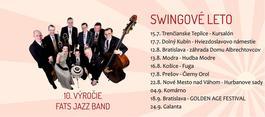 Koncert: Fats Jazz Band, Hviezdoslavovo nám, Dolný Kubín, 17.7.2021 18:00