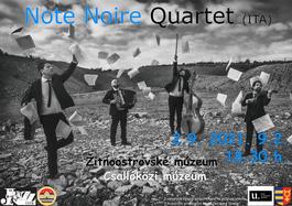 Note Noire Quartet (Taliansko), 2.9.2021 18:00