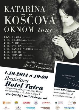 BRATISLAVA / Katarína Koščová / Oknom tour, 1.10.2014 19:00