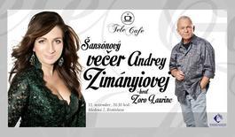 Šansónový večer Andrey Zimányiovej, 28.10.2014 20:30