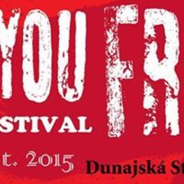Hudobný festival Are You FREE? 2015, 16.10.2015 19:00