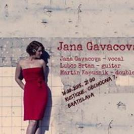 Jana Gavačová Trio, 16.10.2015 21:00