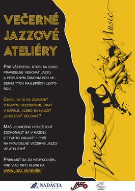 Večerné jazzové ateliéry 2020: Čoskoro pokračuje ôsmy ročník workshopov