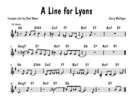Umenie transkripcie 4: A Line for Lyons
