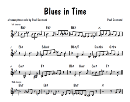 Umenie transkripcie 2: Blues in Time