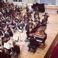 Čajkovskij Piano Concerto b mol with Symphony Orchestra in Slovak Filharmony