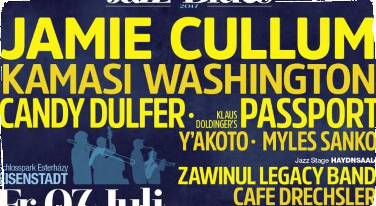 Na Nova Jazz Blues Night vystúpi Jamie Cullum, Candy Dulfer a Kamasi Washington