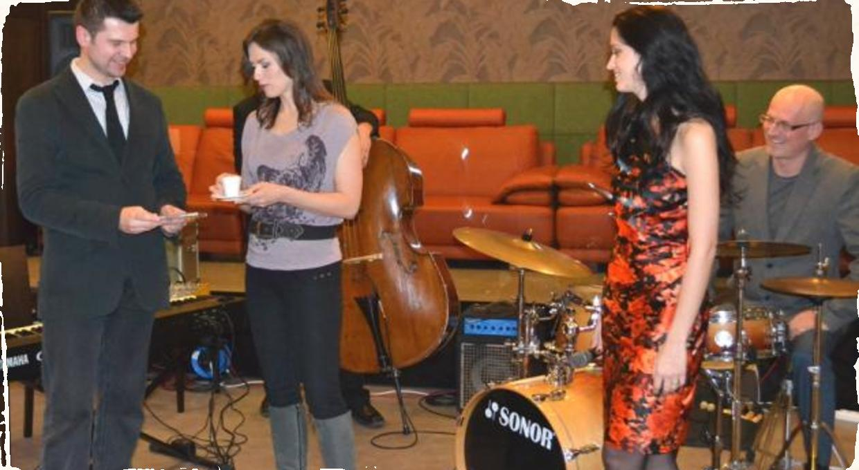 Reportáž z krstu CD a koncertu Jazz Pops Up