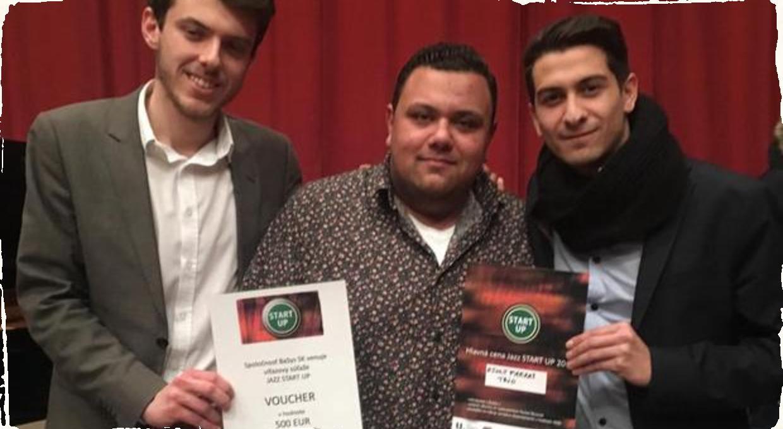 Ceny pre mladých jazzmanov sú rozdané: Hlavnú cenu súťaže Jazz START UP získala kapela Zsolt Farkas Trio