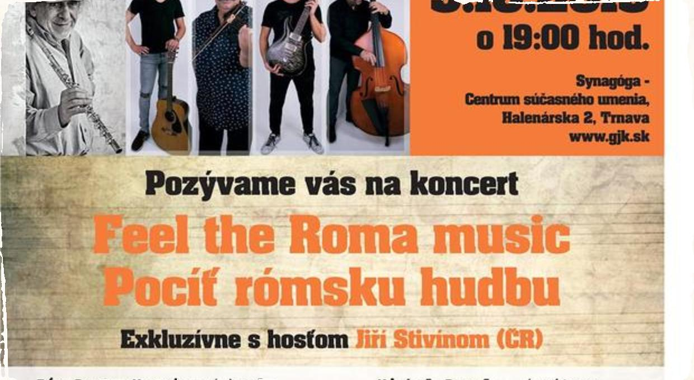 """Projekt """"Pocíť rómsku hudbu"""" vyráža na slovenské turné: Špeciálnym hosťom bude multiinštrumentalista Jiří Stivín"""