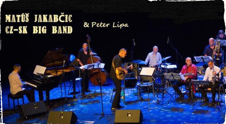 Matúš Jakabčic CZ-SK Big Band vyráža na jesenné turné: Špeciálnym hosťom bude spevák Peter Lipa