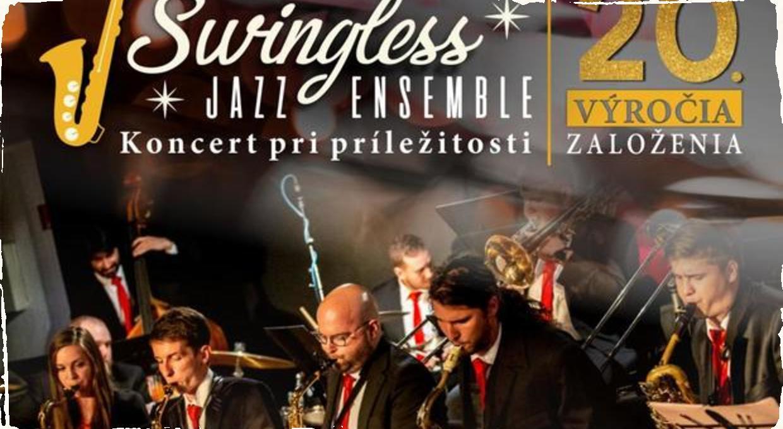 Swingless Jazz Ensemble jubiluje: Dvadsiate narodeniny oslávia krstom debutového albumu