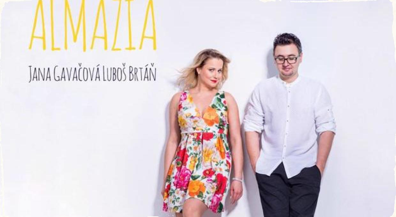 Jana Gavačová a Ľuboš Brtáň predstavujú album Almázia: Novinka prináša farebnú hudobnú mozaiku vlastnej tvorby