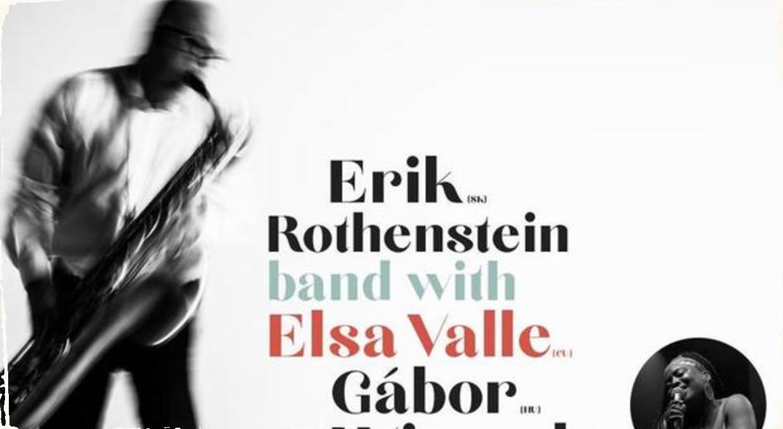Jazz v meste: Erik Rothenstein Band sa predstaví s Elsou Valle & Gáborom Winandom v Liptovskom Mikuláši