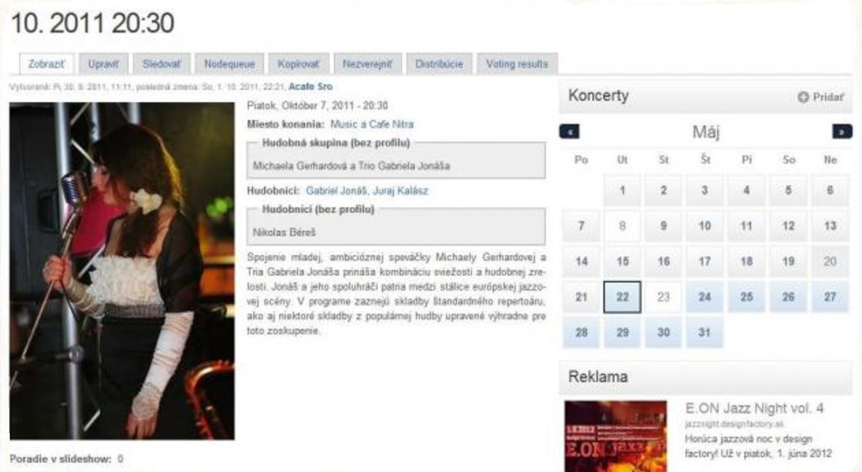 Desať dôvodov, prečo pridať koncert na Jazz.sk