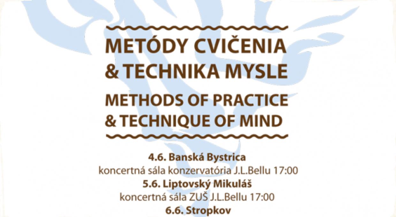 Interaktívny seminár Metódy cvičenia a Technika mysle