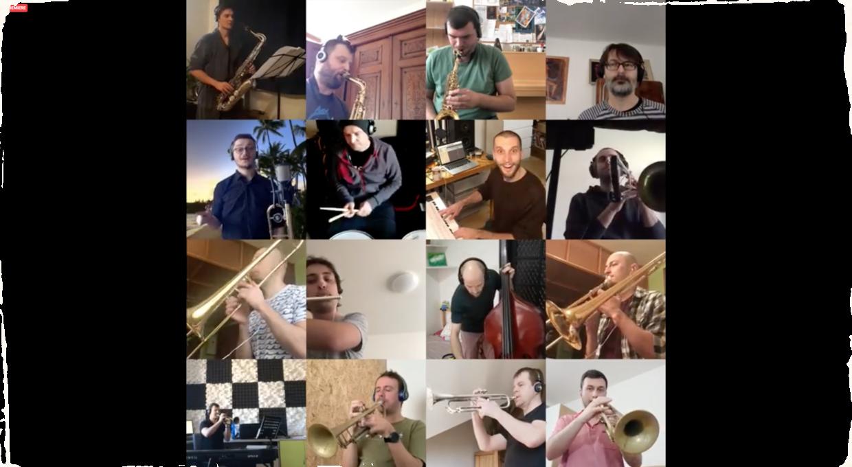 Big band v časoch koronavírusu. Cotatcha Orchestra nahral bez spoločného stretnutia novú skladbu