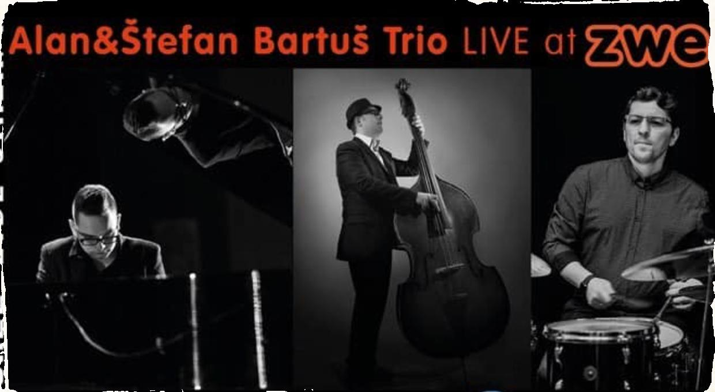 Iniciatíva ,,Aby kultúra žila'' prináša livestream koncerty: v pondelok večer sa predstaví Alan & Štefan Bartuš Trio
