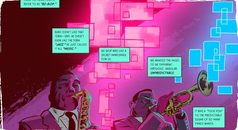 """Komiks o jazzovom géniovi. """"Charlie Parker in California"""" vyjde pri príležitosti jeho 100. narodenín"""