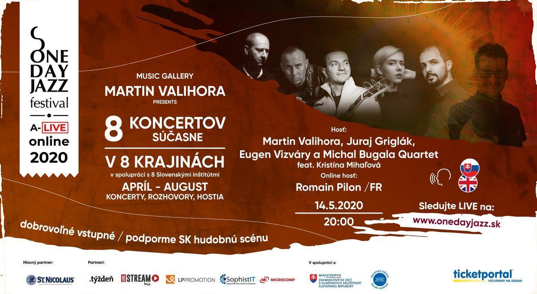 One Day Jazz Festival A-Live tentokrát prepojí Slovensko s Francúzskom