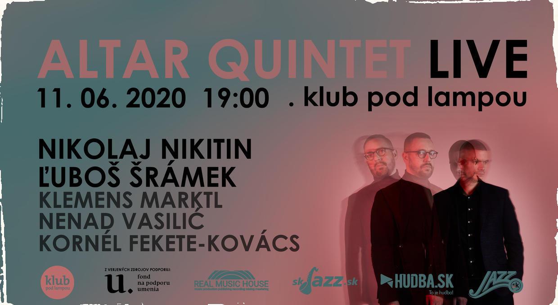 Slovenskí jazzmani Nikitin a Šrámek pripravujú premiéru novinky Altar Double Quintet