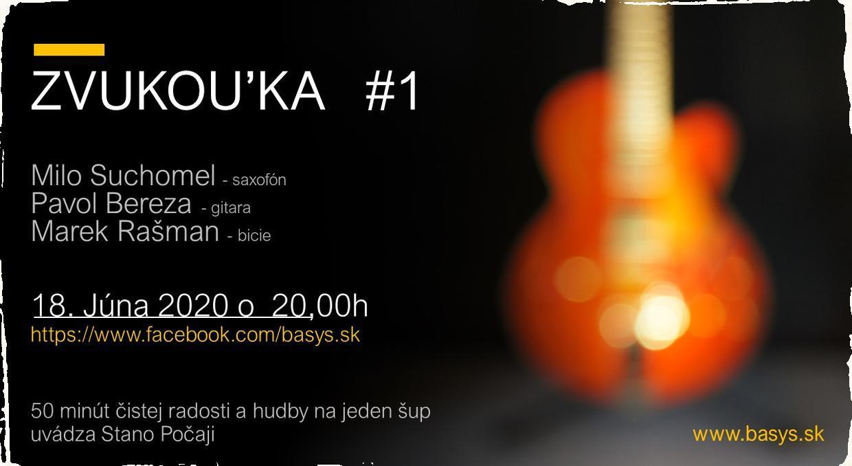"""Štartuje projekt ZVUKOU'KA. Každý štvrtkový večer prinesie 50 minút hudobnej prezentácie """"na jeden šup"""""""