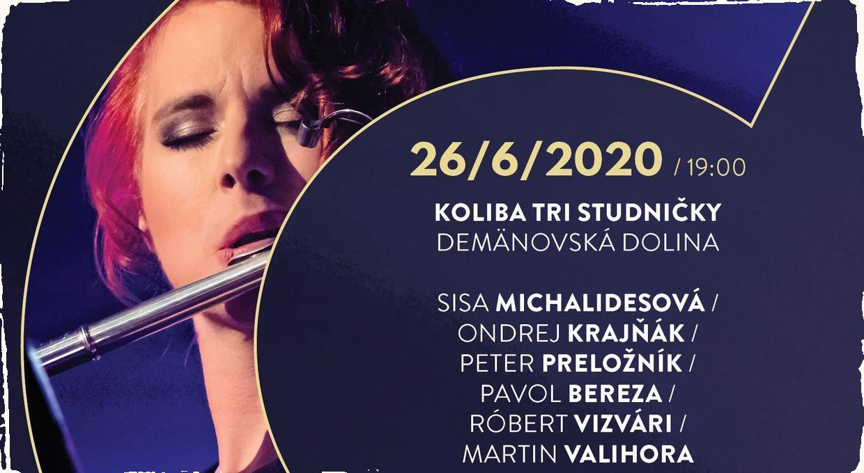 """Sisa Michalidesová sa predstaví živým koncertom v rámci série """"Jazz v meste"""": jej skladby z albumu """"Colors of Solitude'' odohrá hviezdna zostava hudobníkov"""
