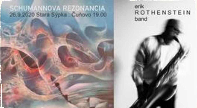 Erik Rothenstein Band predstaví projekt Schumannova rezonancia. V Historickej sýpke čunovského kaštieľa zaznie jazz