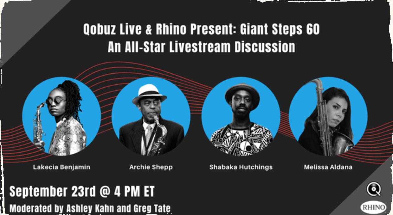 Uskutoční sa live stream na počesť Johna Coltrana. Diskutérmi bude aj Melissa Aldana a Archie Shepp