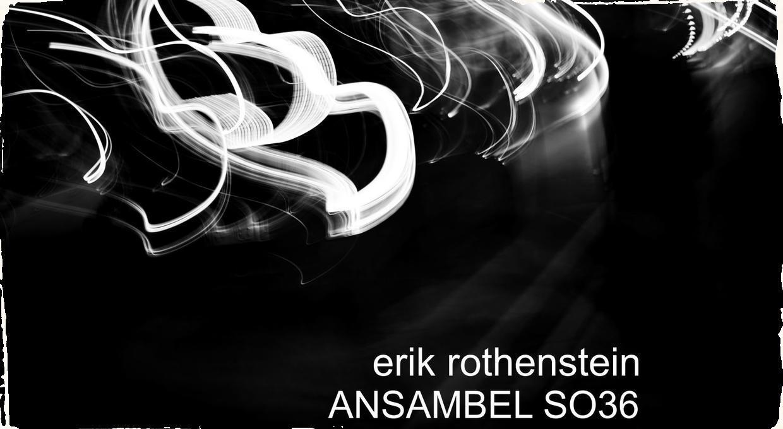 Ansambel SO36 pod vedením saxofonistu Erika Rothensteina vydáva svoj debutový album Čierna labuť