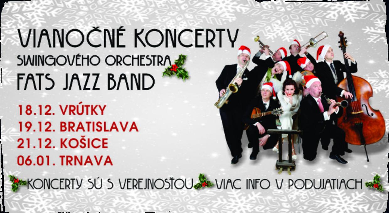 Blížia sa vianočné koncerty Fats Jazz Bandu. Zažite čarovnú atmosféru v rytme swingu