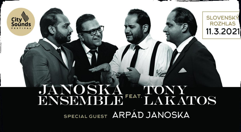 Uznávaný Janoska Ensemble sa predstaví na Slovensku v novom termíne. Nový program so saxofonistom Tonym Lakatosom uvedie v premiére v Bratislave!
