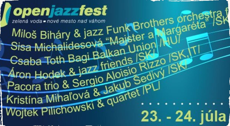 OpenJazzFest: 11.ročník openair festivalu má kompletný program