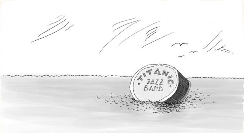 Karikatúra a jazz - Vojtech Krumpolec