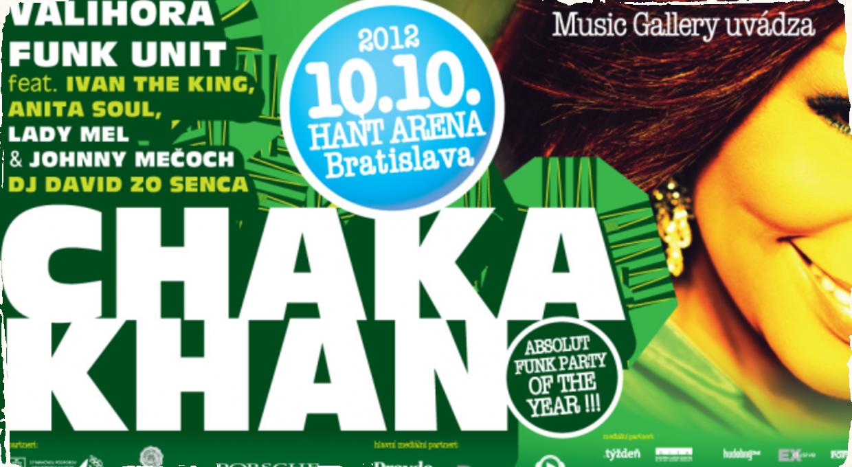 Speváčka Chaka Khan zavíta na jeseň do Bratislavy