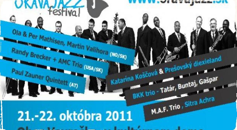 Program festivalu Orava Jazz