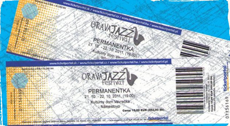 2x súťaž o 2 permanentky na Orava Jazz Fest