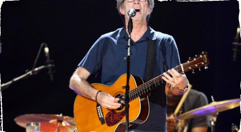 Eric Clapton rozpálil Prahu – aj bez Tears in Heaven