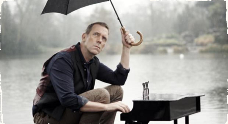 Nový album: Hugh Laurie hrá, aj keď prší!